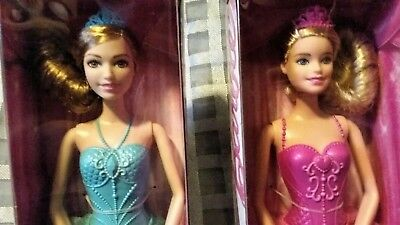Fairytale Ballerina Barbie Doll Lot Of 2 BRAND NEW IN BOX