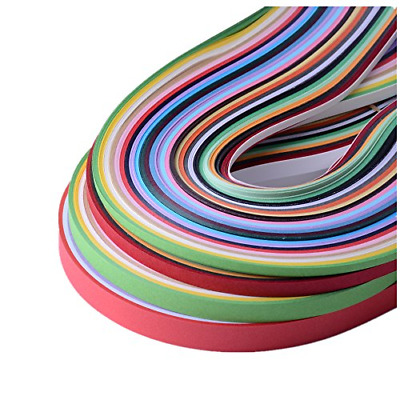 MagiDeal 120 Strips Paper Quilling Paper Strips DIY Craft Scrapbooking Handmade Home Decoration 54 cm in Length and 5 mm in Width Blue