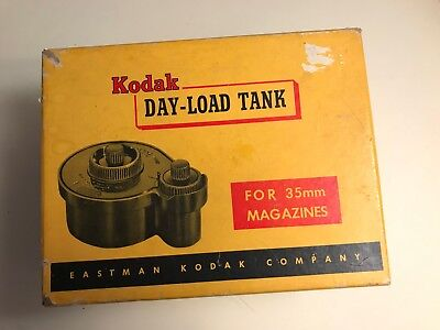 Kodak Day-Load Tank Film Developing Tank 35mm With Box and Instructions