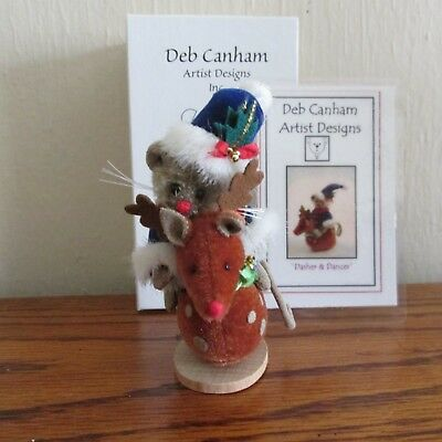 DEB CANHAM ARTIST DESIGNS  Dasher & Dancer Open Limited Edition # 54