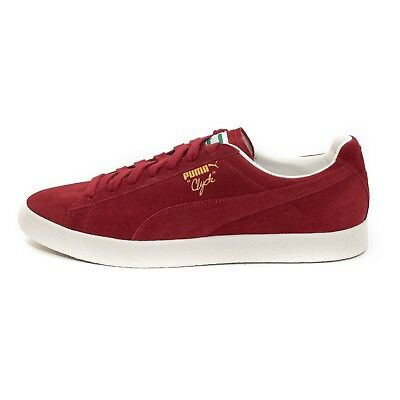 official photos 8df5b c4c88 WOMENS PUMA CLYDE From The Archive Red Dahlia Trainers (PUF1) RRP £79.99