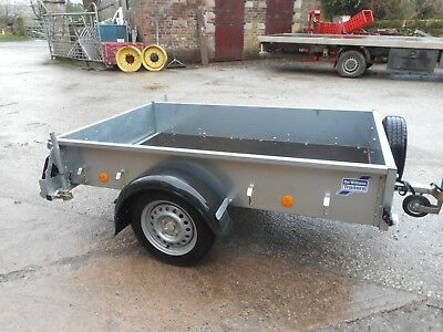 Ifor Williams P6E With Tailboard Prop Stands C2296 No Vat
