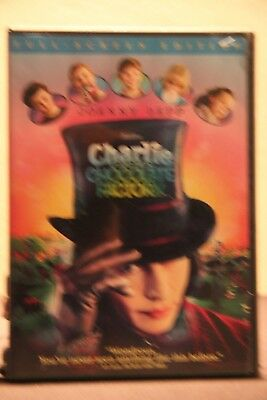 Charlie and the Chocolate Factory (DVD, 2005, Full Frame) - Used