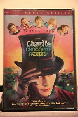 Charlie and the Chocolate Factory (DVD, 2005, Widescreen) - Used