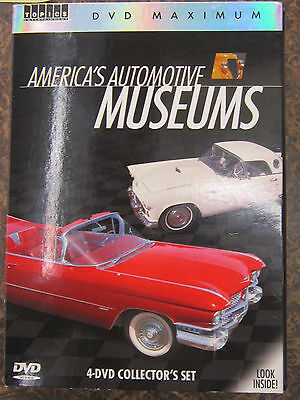 DVD:4 Collector's Set - America's Automotive Museums