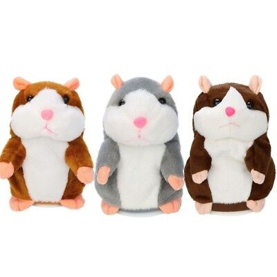 STOCK Cute Talking Nod Hamster Mouse Record Chat Mimicry Educational Childre
