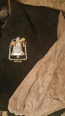 Union Pacific Railroad Two Tone Leather NWT jacket. Xl