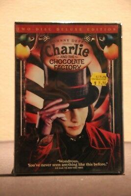 Charlie and the Chocolate Factory (DVD, 2005, 2-Disc Set, Widescreen) - Used