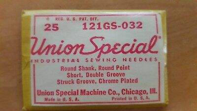 Union Special 121GS-032, Sewing Machine Needles (Pack of 25 Needles)