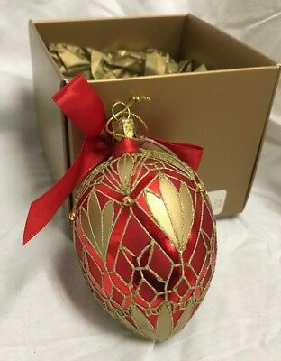 Waterford Lismore Elegance Egg Ornament