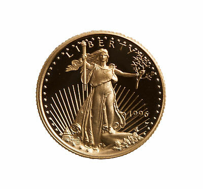Lot of 10 - $5 1/10oz Proof Gold American Eagle - Capsule Only (Random Date)