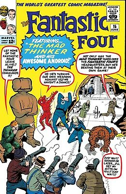 True Believers: What If Featuring The Mad Thinker  - Bagged Boarded. Free Uk P+P
