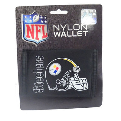 NFL Pittsburgh Steelers Logo Nylon Tri-fold Wallet