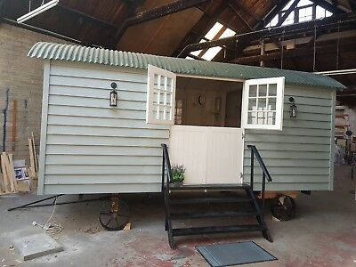 LUXURY, bespoke, brand new SHEPHERD'S HUT . . .