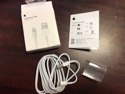 OEM Original Apple Lightning to USB 2M(6ft.) Charger Cable for iPhone/iPad