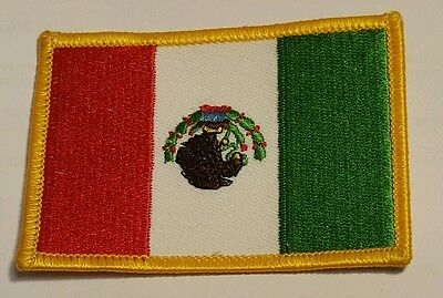 MEXICO Country Flag Patch Mexican Iron On NEW