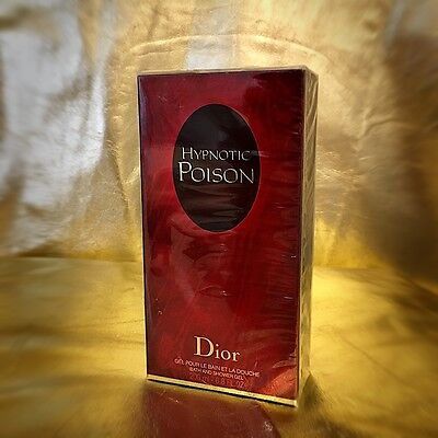 RARE VINTAGE NEW Dior Hypnotic Poison Perfume Bath Shower Gel Bain Douche 200m L