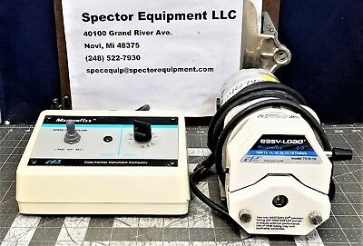 Peristaltic Variable Speed Easy Load Masterflex Pump 6-600 RPM Cole Parmer [B1S4