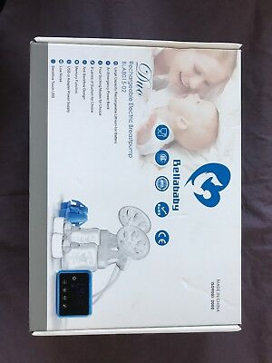 Bellababy Double Electric Breast Feeding Pumps Pain Free Strong Suction Power  S