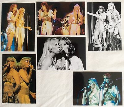 Agnetha & Frida Live Concert Tour 1977 Photo Set 2 *ABBA Faltskog Lyngstad