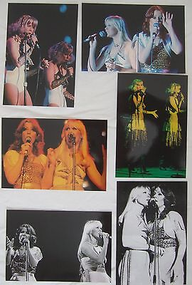 Agnetha & Frida Live Concert Tour 1977 Photo Set 1 *ABBA Faltskog Lyngstad