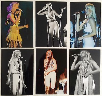 Agnetha Faltskog Live Concert Tour 1977 Photo Set 5 - NEW Jan'16 *ABBA Frida SOS