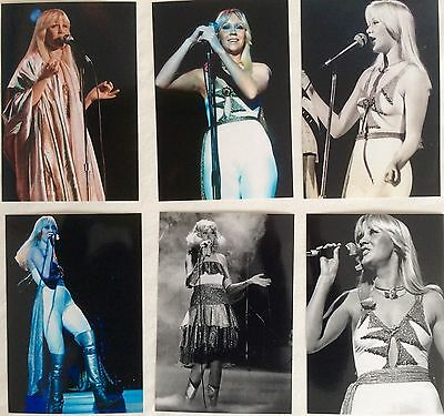 Agnetha Faltskog Live Concert Tour 1977 Photo Set 6 - NEW Jan'17 *ABBA Frida SOS