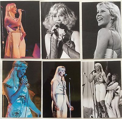 Agnetha Faltskog Live Concert Tour 1977 Photo Set 7 - NEW Aug'17 *ABBA Frida SOS