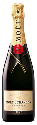 Moet & Chandon Brut Imperial NV Champagne 750mL