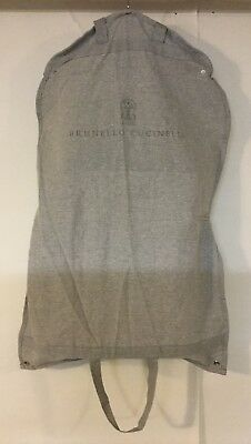 "BRUNELLO CUCINELLI Garment Travel Canvas StorageBag with Hanger - 21.5"" x 34"""
