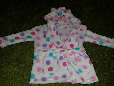 Girls dressing gown aged 6/12 months