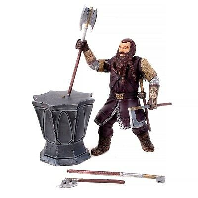 "The Lord Of The Rings Gimli Swinging Battle Axe 5"" Action Figure - Toybiz 2001"