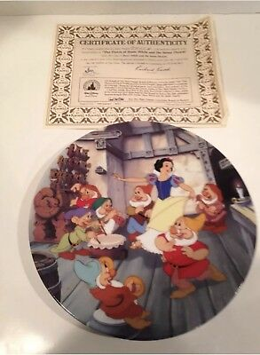 Snow White And The Seven Dwarfs plate