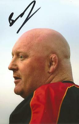 DRAGONS RUGBY UNION: BERNARD JACKMAN SIGNED 6x4 ACTION PHOTO+COA