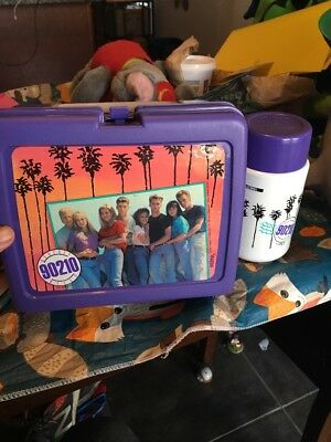 "Vintage 1990's ""90210"" lunch box & thermos"