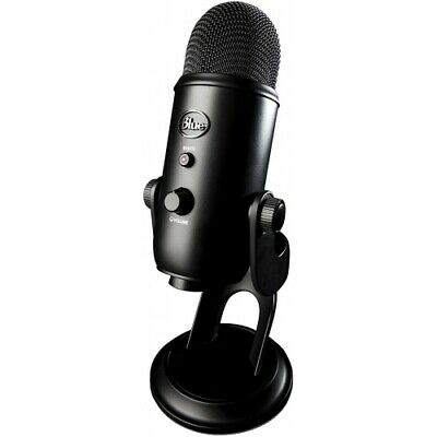 Blue Microphones Blackout Edition Yeti USB Microphone