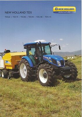 New Holland TD5 Series Tractor brochure 05/14