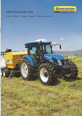 New Holland TD5 Series Tractor brochure 02/13