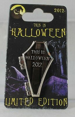 Disney DLR This is Halloween Pin Nightmare Before Christmas Coffin Oogie Boogie