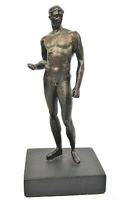 Ancient Roman Nude Statue Metropolitan Museum Of Art Sculpture Bronzed Replica