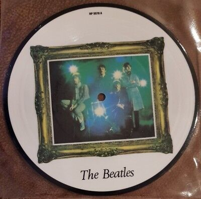 """THE BEATLES - Strawberry Fields Forever ~7"""" Vinyl Single~ *PICTURE DISC*"""