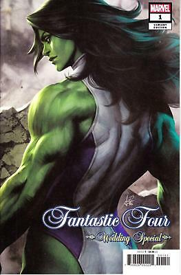 Fantastic Four Wedding Special #1 Artgerm Variant Stanley Lau She-Hulk Marvel