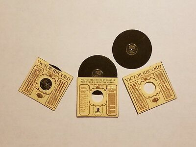 1920s Victor Phonograph Records for Dollhouse