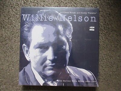 "Willie Nelson ""it's Been Rough And Rocky Travelin'"" 2003 3Cd Bear Family Sealed!"