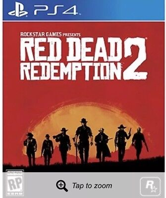 New In Box, Red Dead Redemption 2, PS4