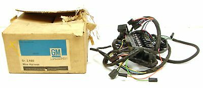 1966 Chevy II Nova NOS Underdash Wiring Harness Assembly GM Part# 6289496