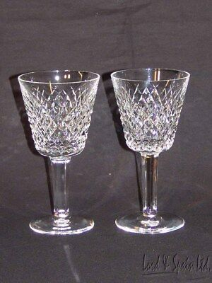 2 Waterford Crystal ALANA Claret Wine Glasses-Ireland-More Available