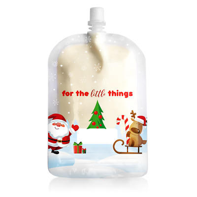 Sinchies 150ml Reusable Food Pouches Infant Baby Pouch Christmas Xmas Edition!