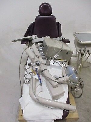 Adec Performer Dental Exam Patient Chair w/ Light & Operatory Delivery System