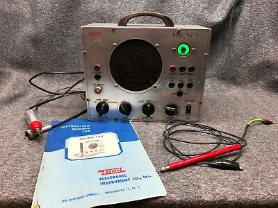 EICO Signal Tracer - Model 147 - Manual and Probe Included - Magic Eye - VINTAGE